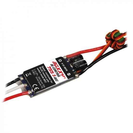 Multiplex ROXXY BL Control 755 S-BEC 55A 2-6 LiPo ESC