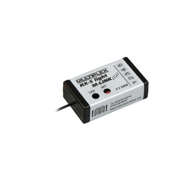 Multiplex Receiver Rx-5 Light M-Link 2.4 Ghz 55808