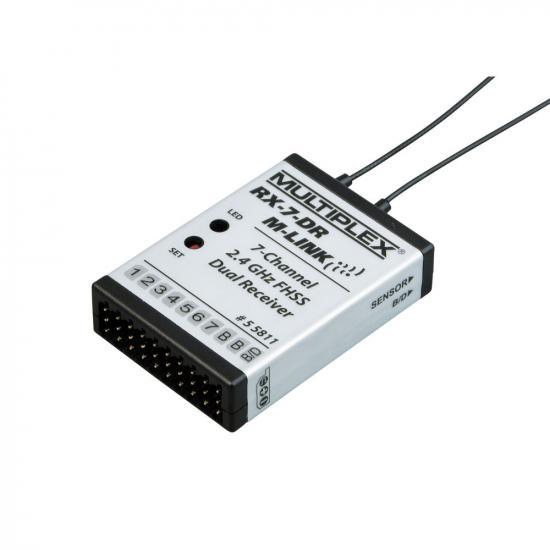 Multiplex Receiver Rx-7-Dr M-Link 2.4 Ghz 55811