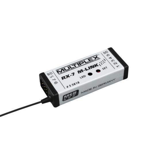 Multiplex Receiver Rx-7 M-Link 2.4 Ghz 55818