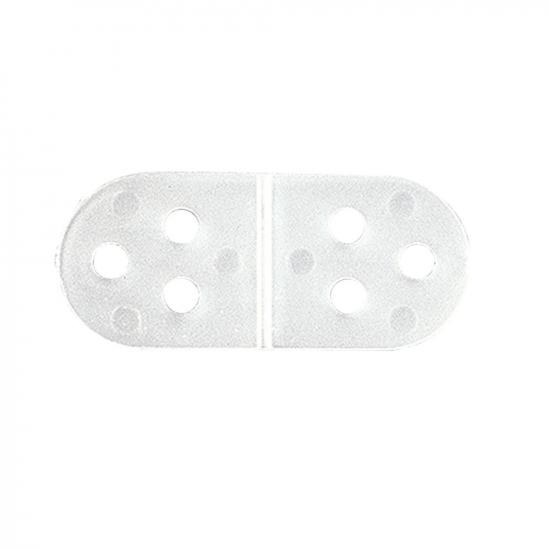 Multiplex Pvc Hinges 10X28 mm/6 Pcs. 703202