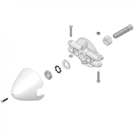 Multiplex Spinner Assy Xeno 733504