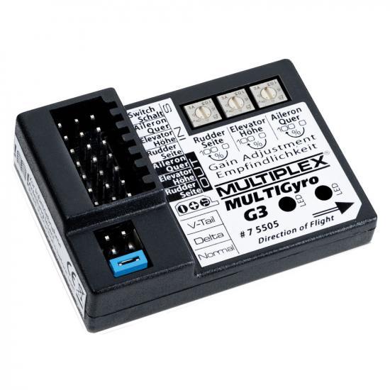Multiplex Multigyro G3 3-Axis Gyro 75505