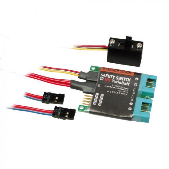 Multiplex Mpx Safety-Switch 12Hv Twinbatt 85009