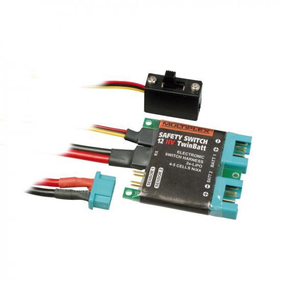 Multiplex Mpx Safety-Switch 12Hv Twinbatt (M6) 85010