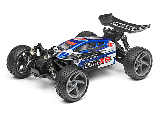 Maverick Clear Buggy Body With Decals (Ion Xb)