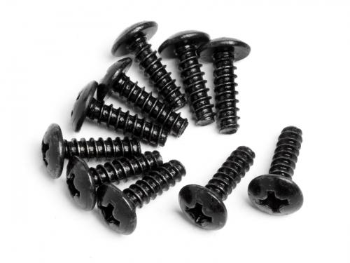Round Head Self-Tapping Screw M3X10mm (10Pcs) ** CLEARANCE **