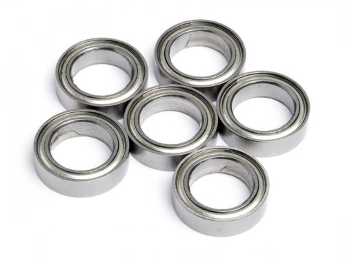 Ball Bearing 10x15x4 (6Pcs) Metal Shielded