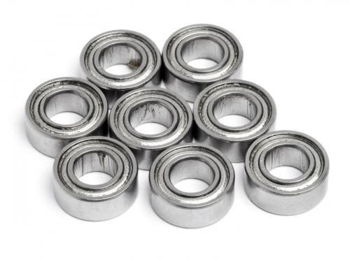 Rolling Bearing 5x10x4mm (8Pcs) Metal Shielded