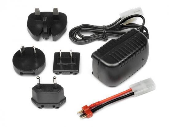 Maverick Multi-Region 300Ma Mains Charger For 7.2V Battery (Tamiya-T-Plug)