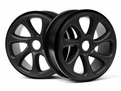 Maverick 1:8 Buggy Black Turbine Wheels (1 Pair)
