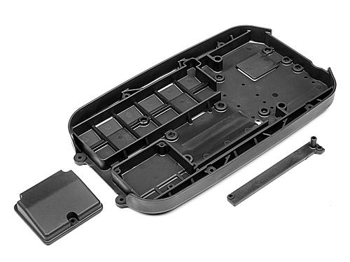 Maverick Chassis Tub W/Reciever Box Lid +  Wire Cover