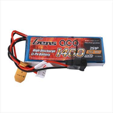 Gens Ace Hubsan H501S/H502S/H107D Transmitter LiPo - 2S 1400Mah
