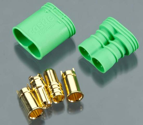 CC Polarized Bullet Connector - 6.5 mm