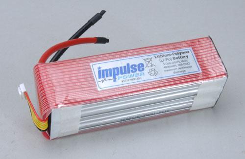 Impulse 5S1P 4800mAh 20C Li-Po