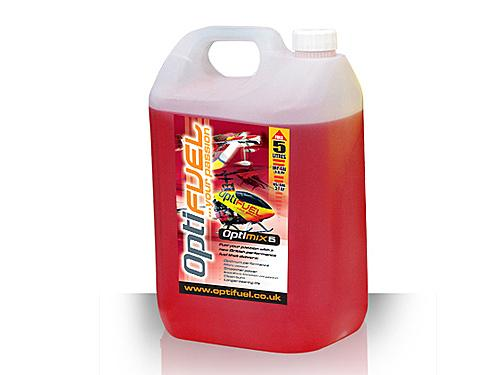 Optimix Aero/Heli Fuel - 5% Nitro - 5 Litres