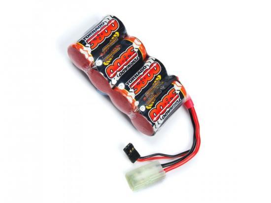 Overlander Nimh Battery Pack SubC 3800mah 4.8v Flat Premium Sport