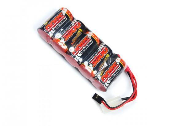 Overlander Nimh Battery Pack SubC 3800mah 6v Flat Premium Sport
