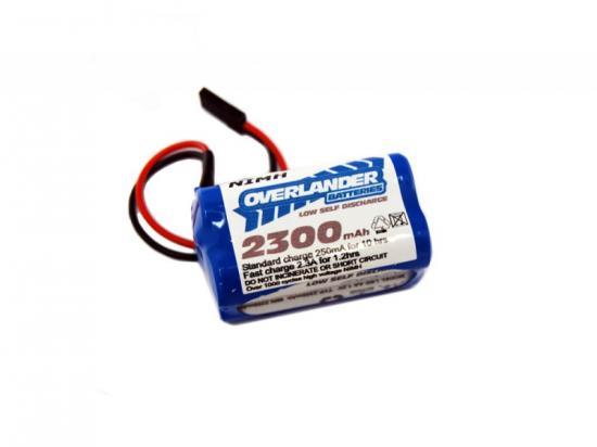 Overlander Nimh Battery Pack LSD AA 2300mah 4.8v Receiver Square Premium Sport