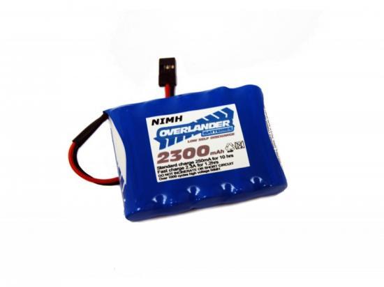 Overlander Nimh Battery Pack LSD AA 2300mah 6v Receiver Flat Premium Sport