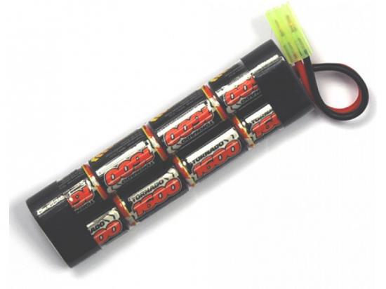 Overlander Nimh Battery Pack 2/3 AF 1600mah 9.6v Premium Sport