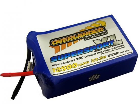 Overlander SuperSport XL LiPo 12500mAh 6S 30C