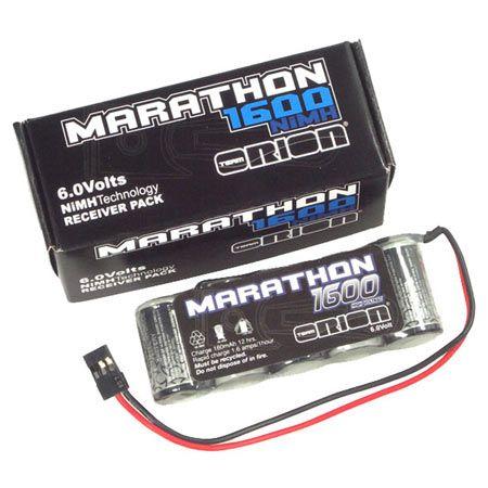 Team Orion 1600mAh 6v Receiver Straight Pack