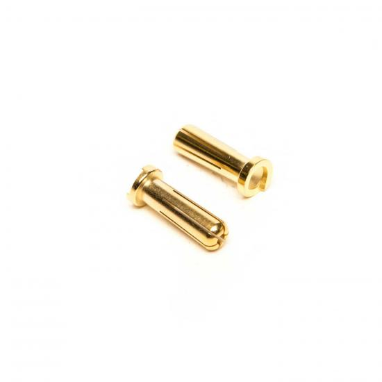Team Orion Orion Gold Plug 5mm Male (2) Low Profile