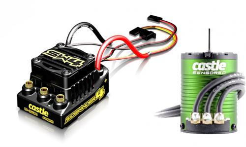 Castle Creations Sidewinder 4 WP ESC Combo With 1406-4600Kv Motor