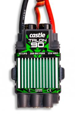 Castle Creations Talon 90 - 25V 90A ESC - With High Output BEC