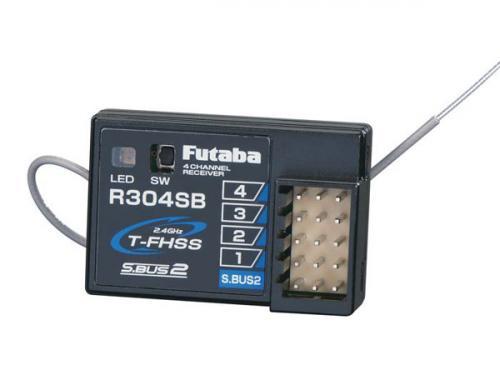 Futaba R304SB 4 Channel Receiver FHSS (S-BUS)