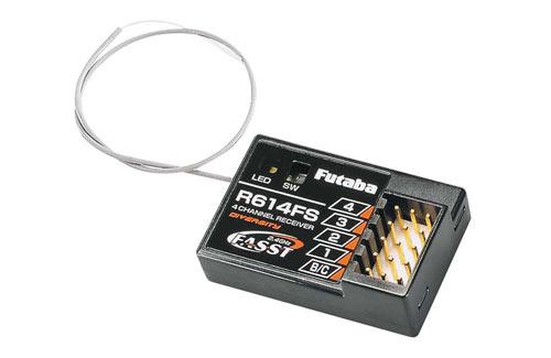 Futab R614FS 4 Channel FASST Receiver