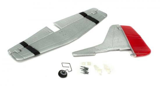 Ultra-Micro P-51D Mustang Complete Tail with Accessories