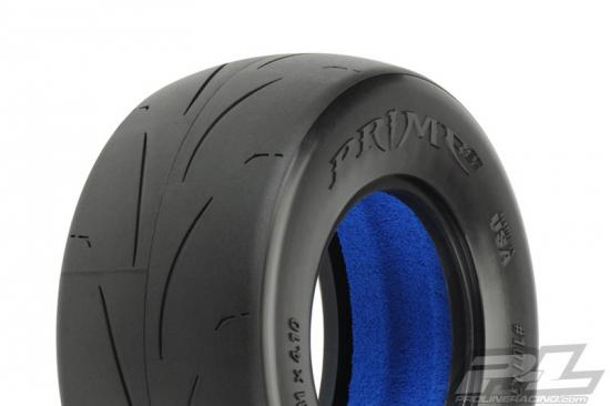 ProLine Prime Street Short Course Tyres - With Closed Cell Inserts - MC