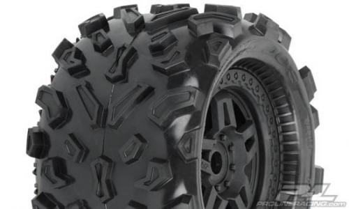 ProLine Big Joe 40 Series Tyres Mounted On Tech 5 17mm Hex Wheels - 1 Pair