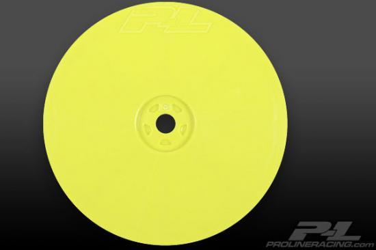ProLine Velocity 2.2 Hex Front Wheels - Yellow - Associated B44.1