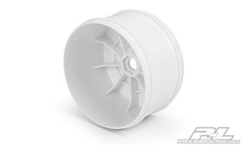"ProLine Velocity VTR 4.0"" Zero Offset Truck Wheels - 17mm Hex - White - Pack Of 4"