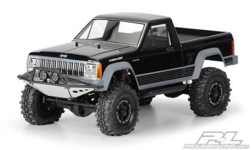 ProLine Jeep Comanche Full Bed Body for 313mm Wheelbase Crawlers