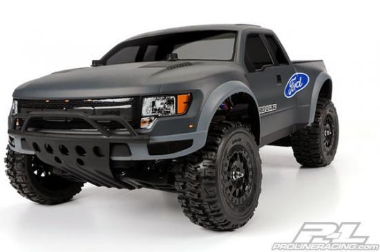 ProLine True Scale Ford F150 Raptor SV Bodyshell - Fits Slash/SC10/Blitz