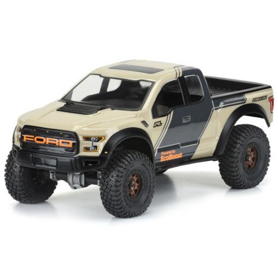 ProLine 2017 Ford F150 Raptor Clear Body 313mm For Crawler