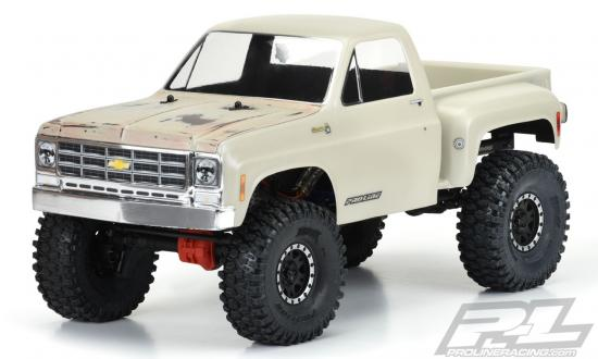 ProLine 1978 Chevy K-10 Clear Body Cab + Bed - 313mm WB