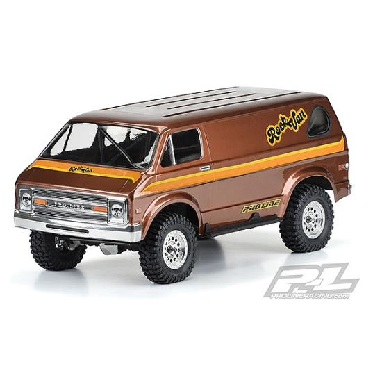ProLine 70s Rock Van Clear Body For 313mm Scale Crawler