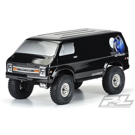 ProLine 70S Rock Van - Pre Painted Black (313mm WB)