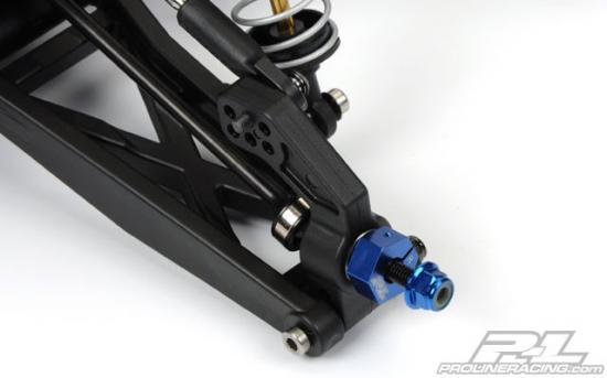 ProLine M4 4mm Serrated Wheel Nuts (4 Pack)