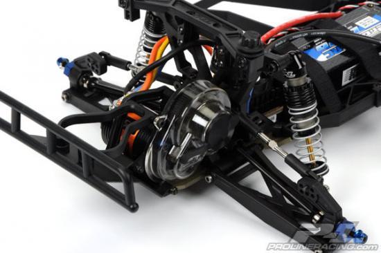 ProLine Pro 2 Hard Anodised Pivot Ball and Rod End Set - Slash 2WD