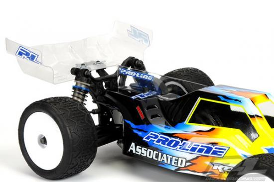 ProLine Pre Cut 1:10 Trifecta Lexan Buggy Clear Wing