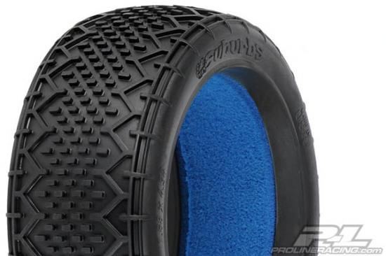 ProLine Suburbs M3 1/8 Buggy Tyres with Closed Cell Inserts