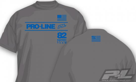 ProLine Factory Team Grey T-Shirt (M)