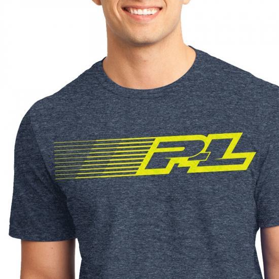 ProLine Linear Navy Blue T-Shirt (Xl)