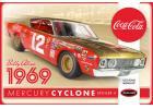 Polar Lights 1:25 Bobby Allison 1969 Coca Cola Mercury Cyclone